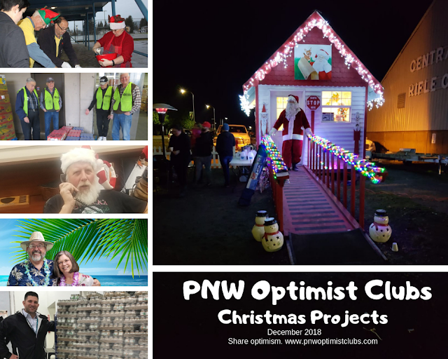 pnw optimist clubs holiday