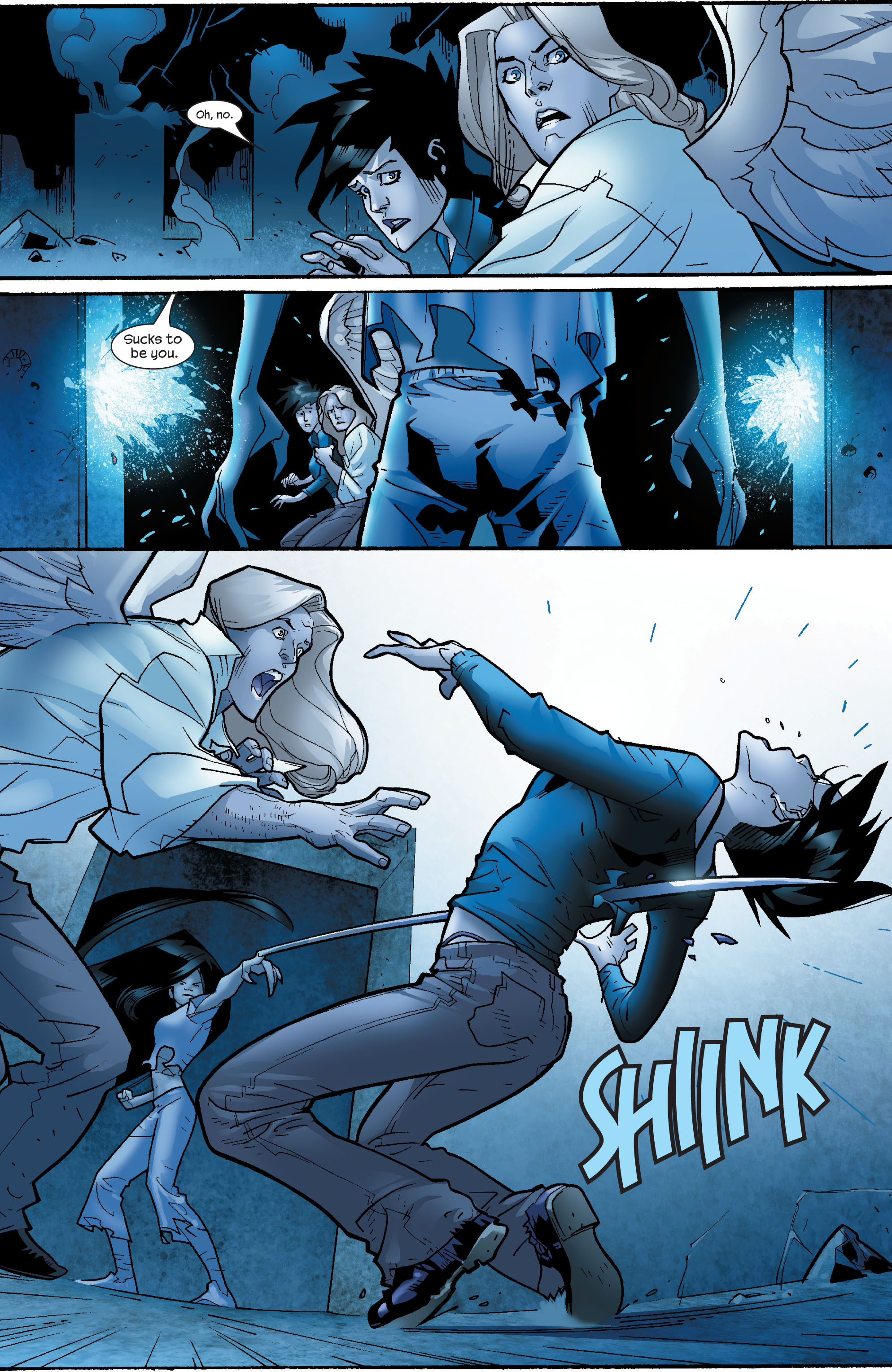Read online Ultimate X-Men comic -  Issue #64 - 24