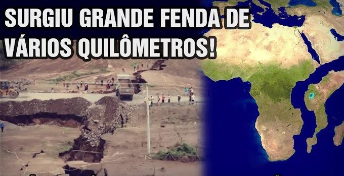 GRANDES MUDANÇAS, A TERRA ESTÁ PARECENDO UM QUEIJO SUÍÇO.