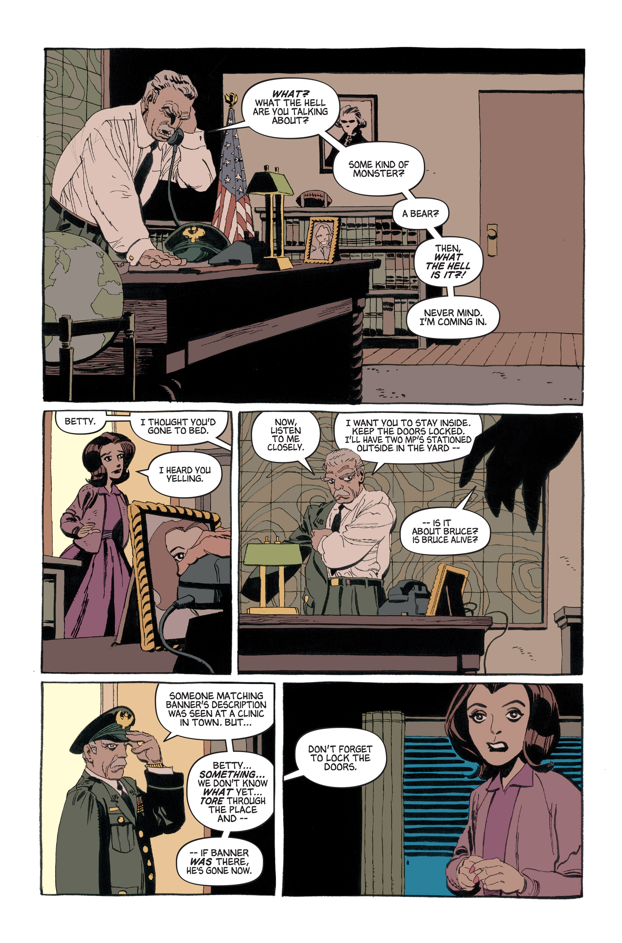 Read online Hulk: Gray comic -  Issue #1 - 21