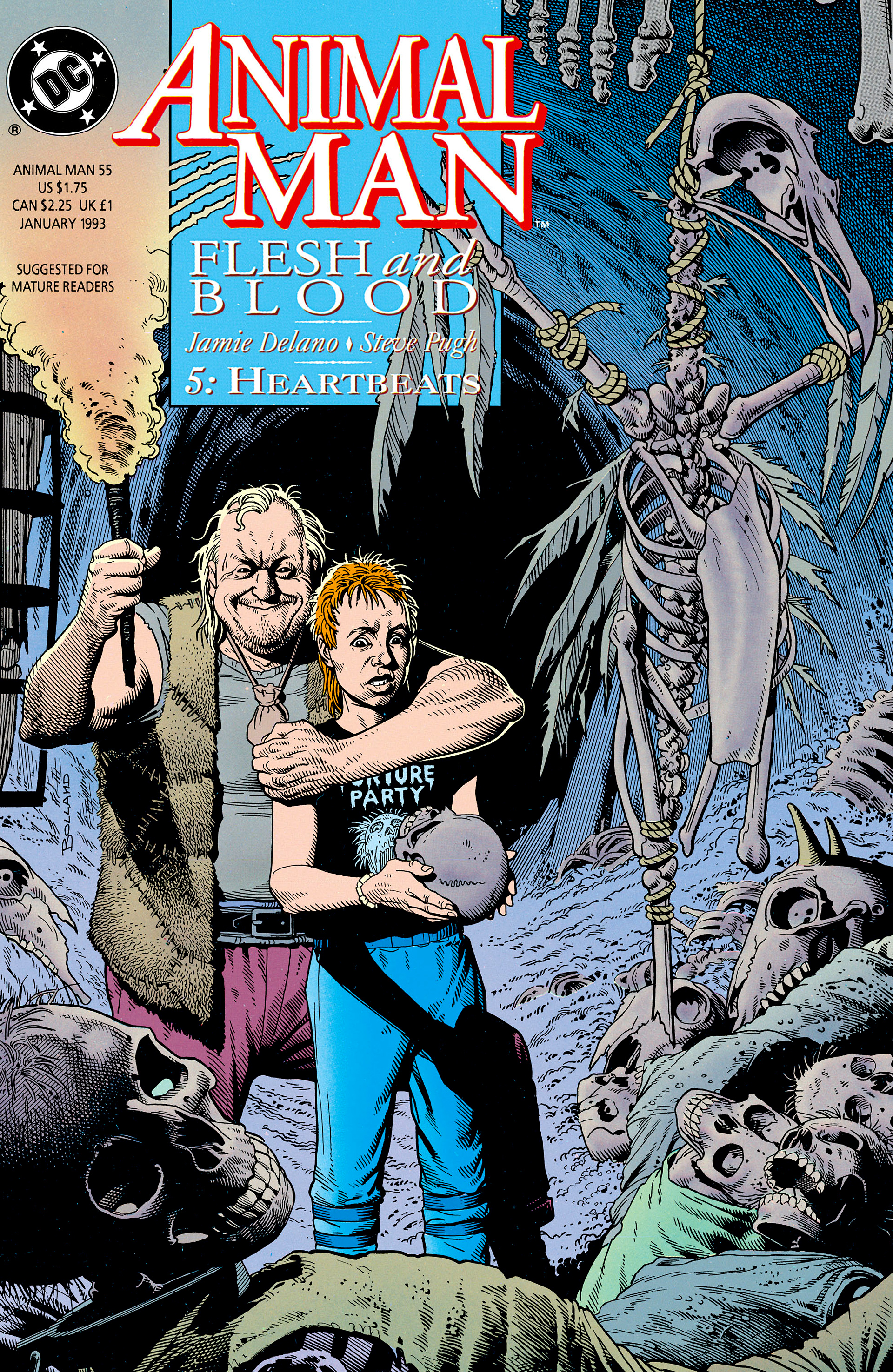 Read online Animal Man (1988) comic -  Issue #55 - 1