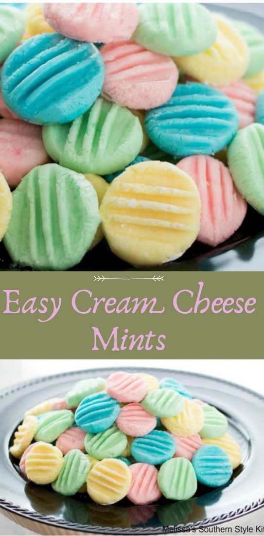 Easy Cream Cheese Mints #healthyfood #dietketo