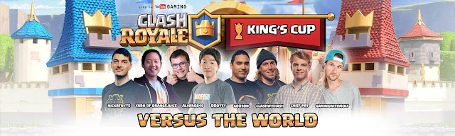 Assista o Torneio Oficial King's Cup - 2