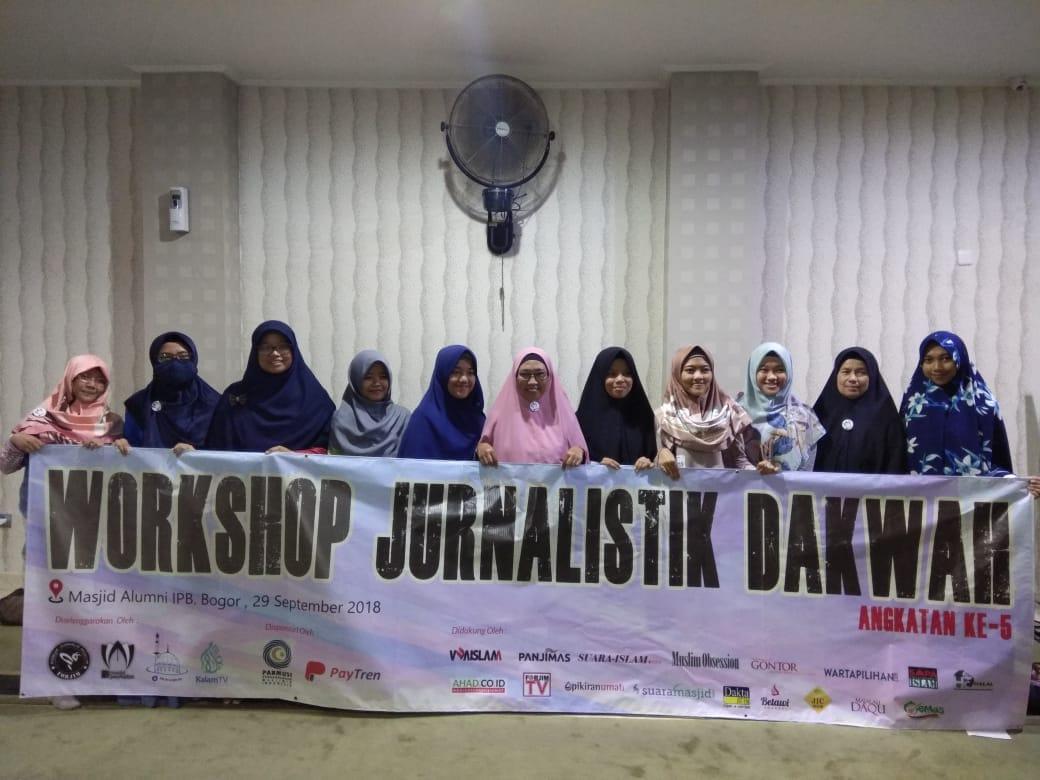 Forjim Gelar Pelatihan Jurnalistik Dakwah One Masjid One Journalist Angkatan ke-5