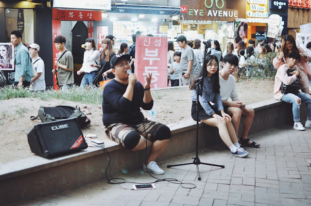 Street Performance at Hongdae