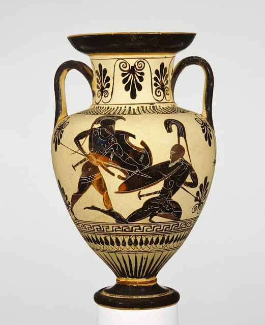 Spencer Alley: Ancient Greek Pots At The Getty