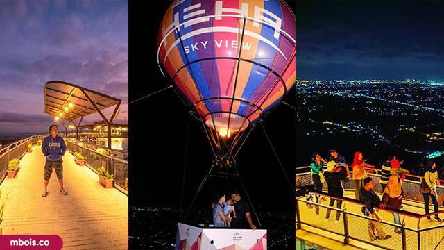 Foto Lokasi dan Tiket Heha Sky View Jogjakarta