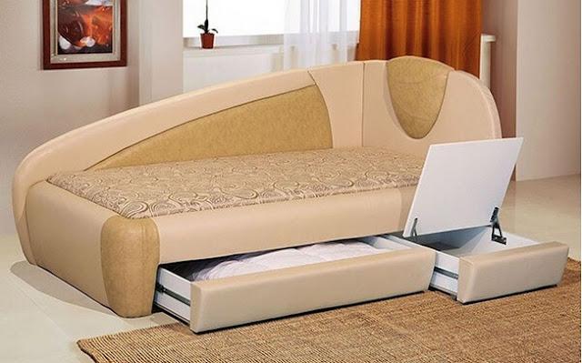 Sofa With Storage Drawer