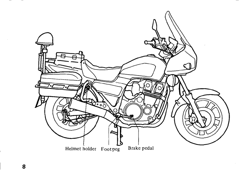 TRANFORMASI HONDA CBX 750P : User Manual Honda CBX 750p