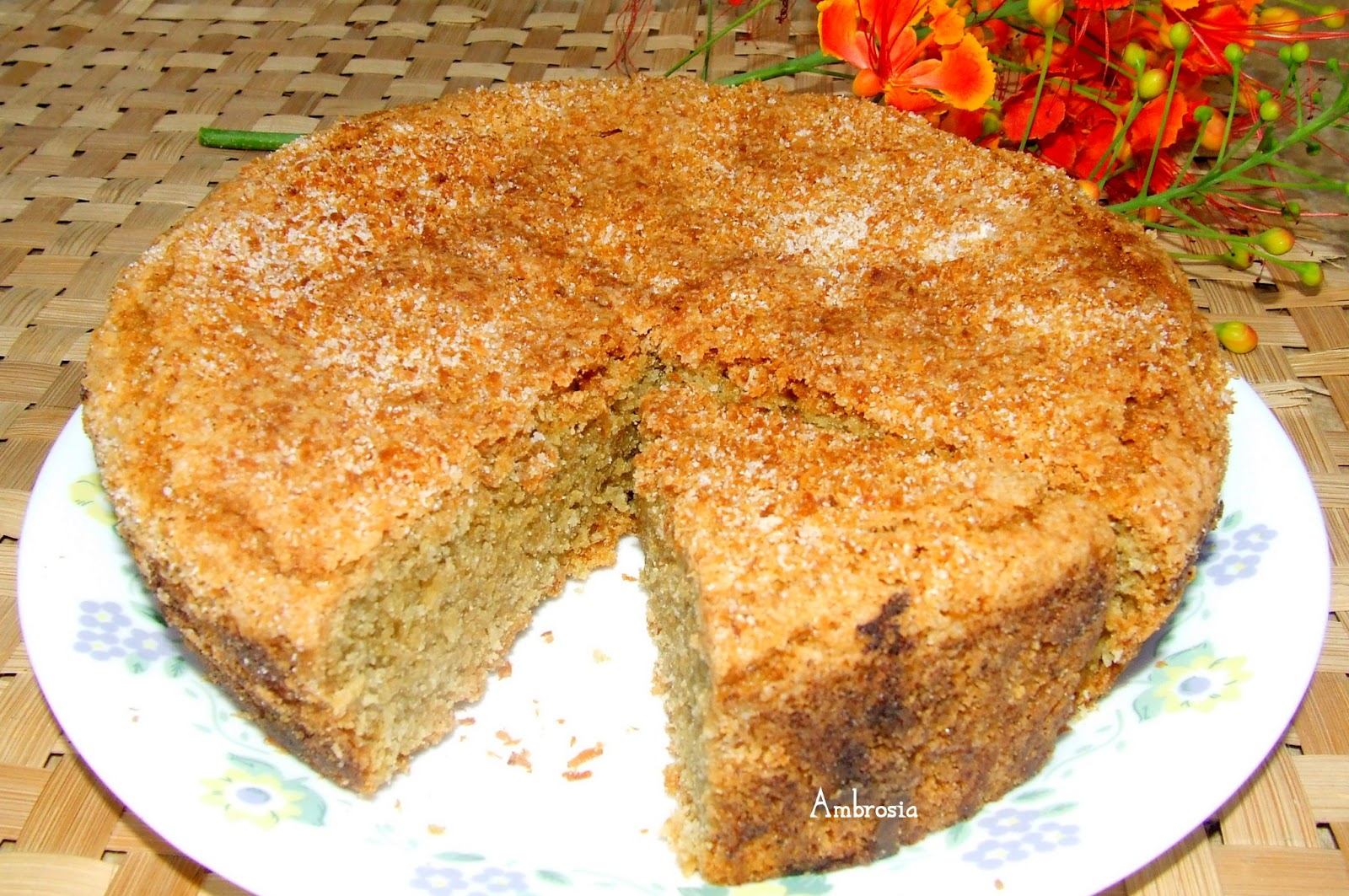 Low Fat Coconut Cake 19