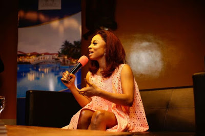 "PHOTOS: Ghanaian Stars Support Nigerian Media Personality (@tokstarr) Toke Makinwa's ""On Becoming"" Tour In Accra"