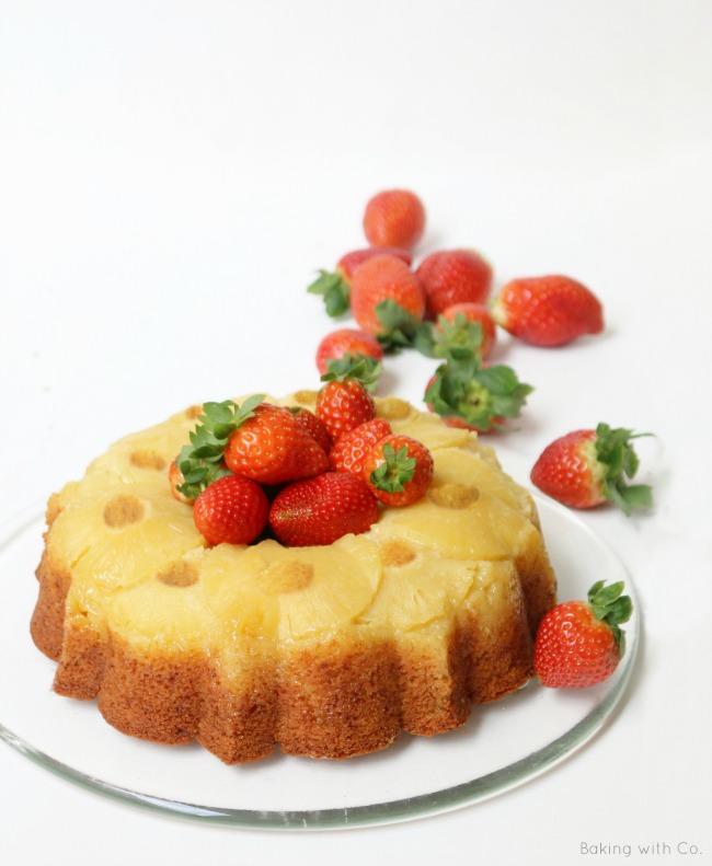 bundt cake de piña