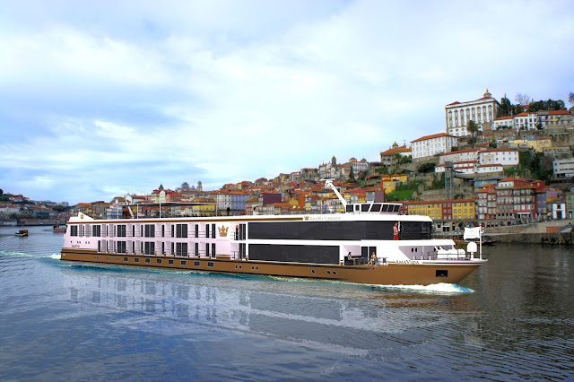 AmaWaterways Christens AmaVida, their newest member of the fleet on Friday, March 22. Photo: Courtesy of AmaWaterways. Unauthorized use is prohibited.