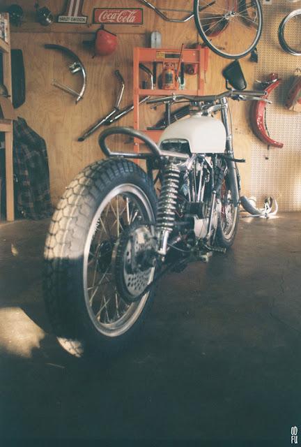 Harley Davidson XLCH Sportser đời 1975 độ Street Tracker