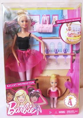 Набор барби с маленькой балериной Barbie Ballet Instructor 2017