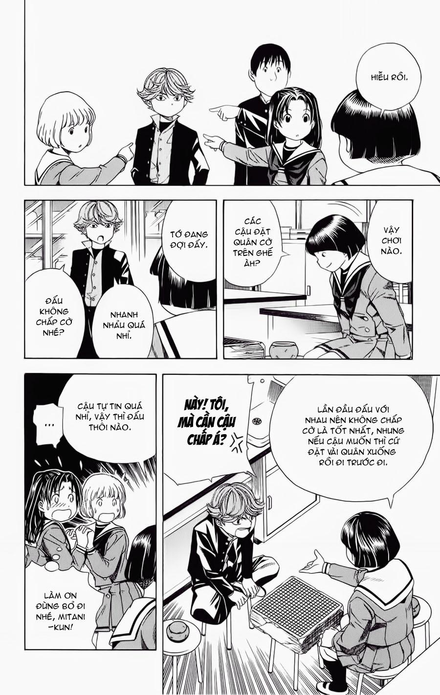 Hikaru No Go hikaru no go chap 57 trang 17