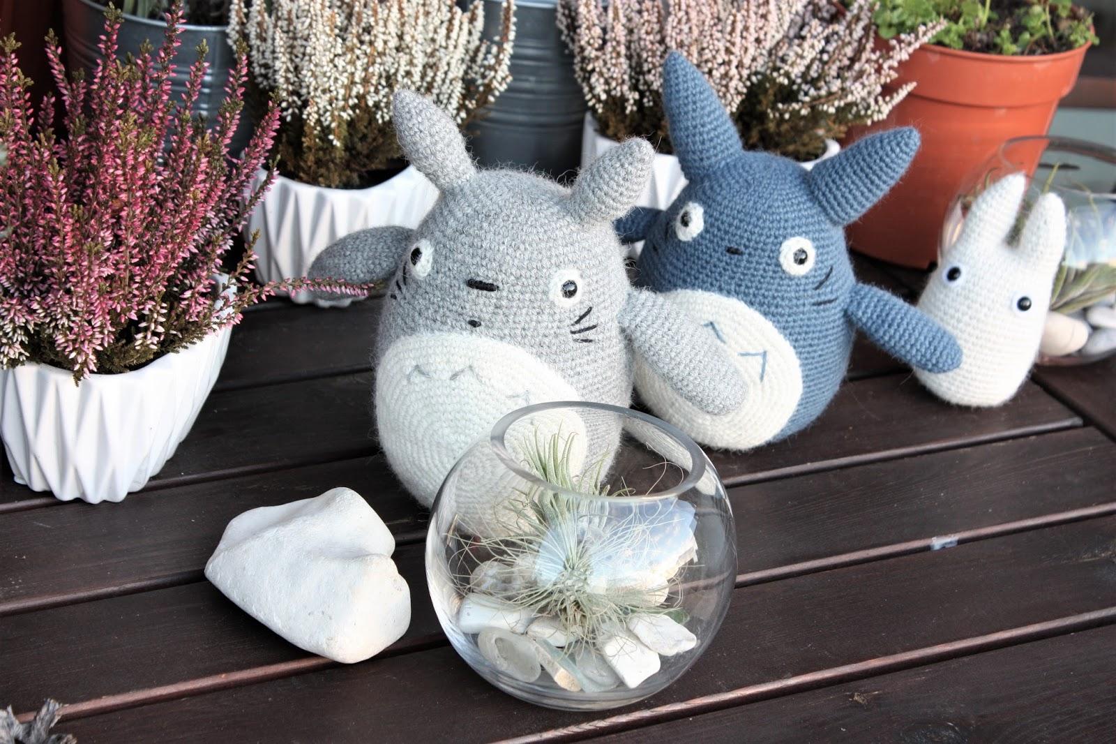 Amigurumi Totoro : Happyamigurumi anime toys my neighbor totoro crochet