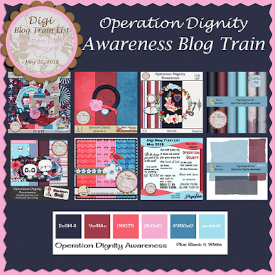 Digi Blog Train List Operation Dignity Awareness Freebie