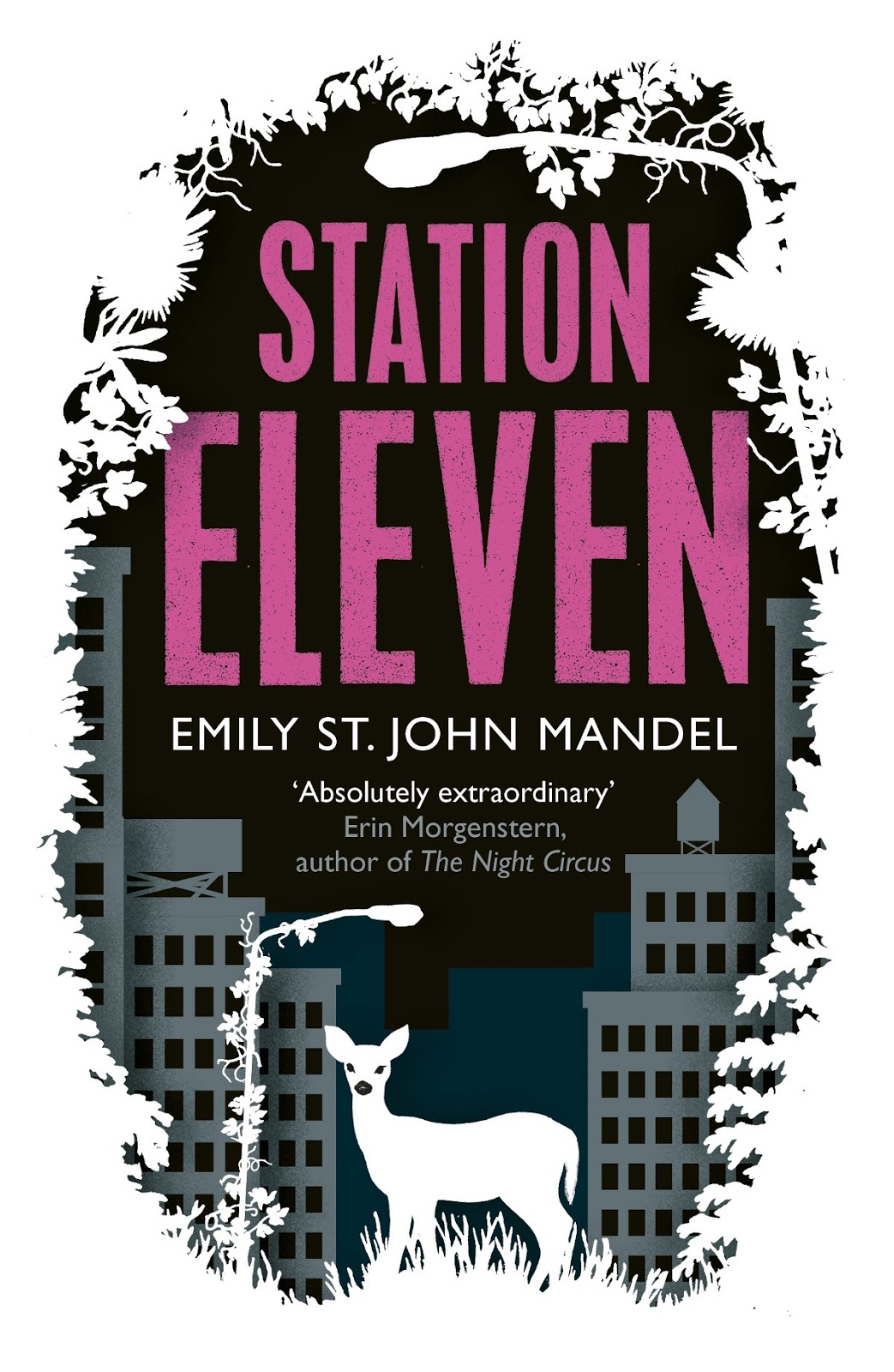 Book cover for Emily St. John Mandel's Station Eleven in the South Manchester, Chorlton, and Didsbury book group