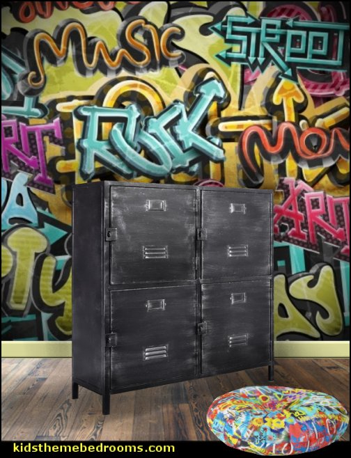graffiti bedrooms furniture  Graffiti wall murals - Urban style punk theme bedroom ideas - skateboarding theme bedroom decorating -  Urban wall Murals - graffiti wallpaper murals - graffiti wall designs - graffiti bedrooms furniture -