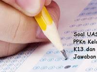Soal UAS/ PAT PPKn Kelas 8 K13 dan Kunci Jawaban