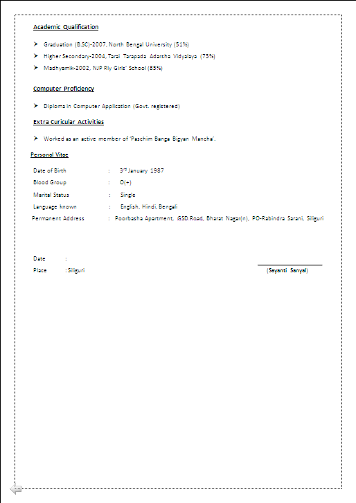 BEAUTYFUL RESUME SAMPLE IN WORD DOCMBA HR with 4 years Experiance  Resume Formats