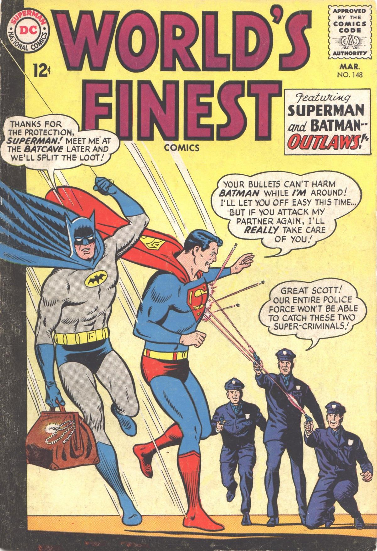Read online World's Finest Comics comic -  Issue #148 - 1