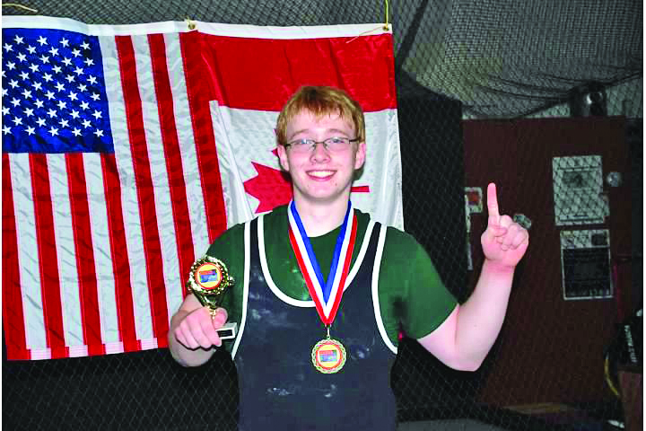 The Windham Eagle Connor Lajoie Smashes American Bench Press Record