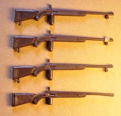 Fusiles de palo