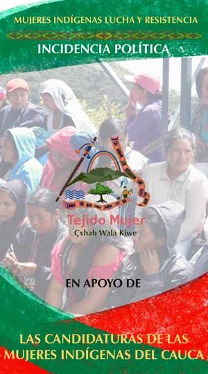 ¡PAREN SU GUERRA CONTRA NOSOTRAS! - Cabildos Indígenas Norte del cauca