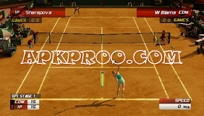 Download Virtua Tennis 3 ISO/CSO Save Data PSP PPSSPP High Compress