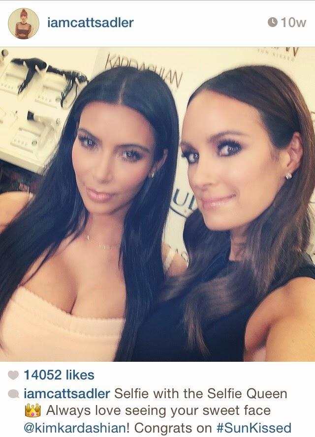 Catt-Sadler-Instagram-Selfie-Kim-Kardashian