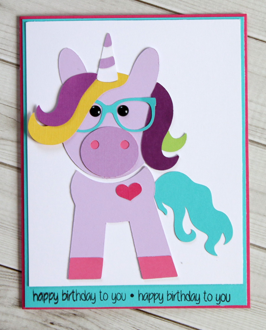 83 Cute Unicorn Birthday Cards