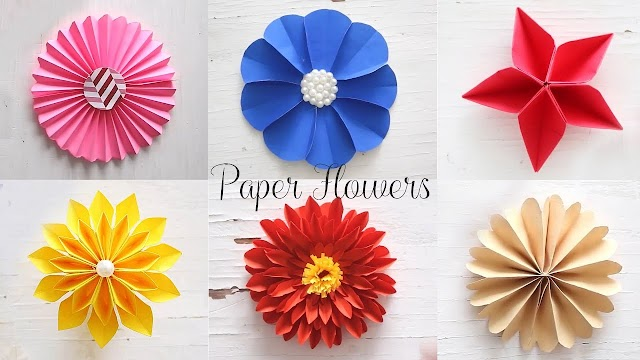 How to Making Paper Flowers