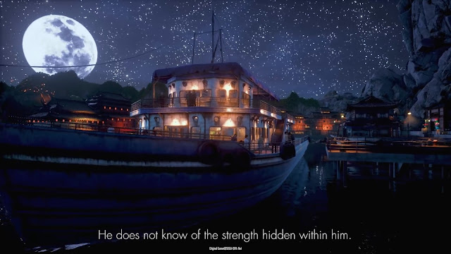 Shenmue III: screen capture from the Prophecy trailer