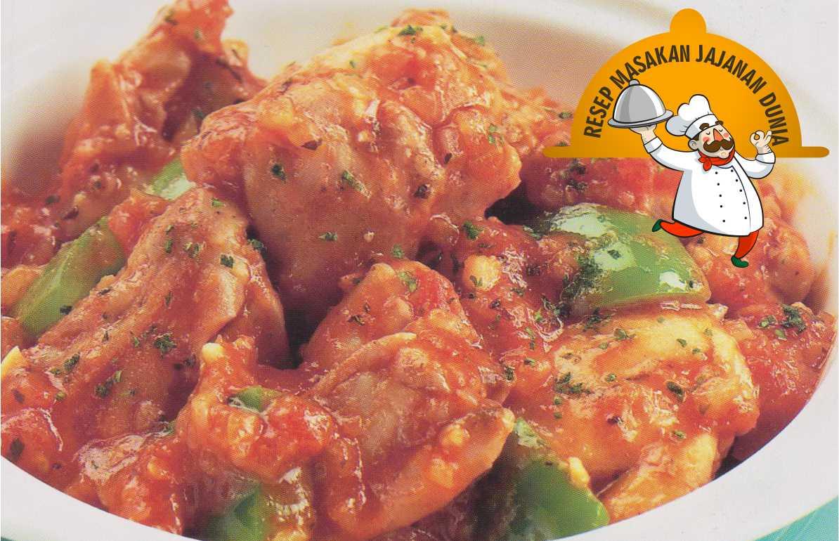 Resep Internasional Ayam Masak Ala Pemburu Italia