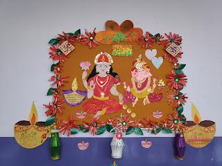 diwali board decoration ideas for school