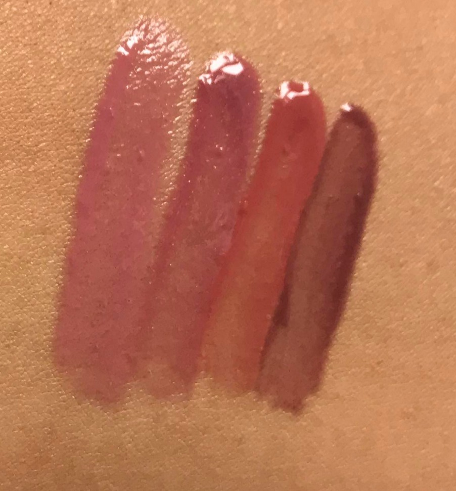 Laura Geller Nude Kisses Glosses Review & Swatches