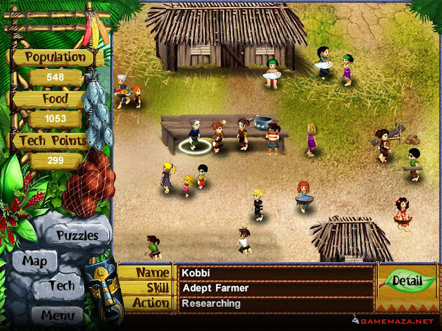 Virtual Villagers 3 Gameplay Screenshot 1
