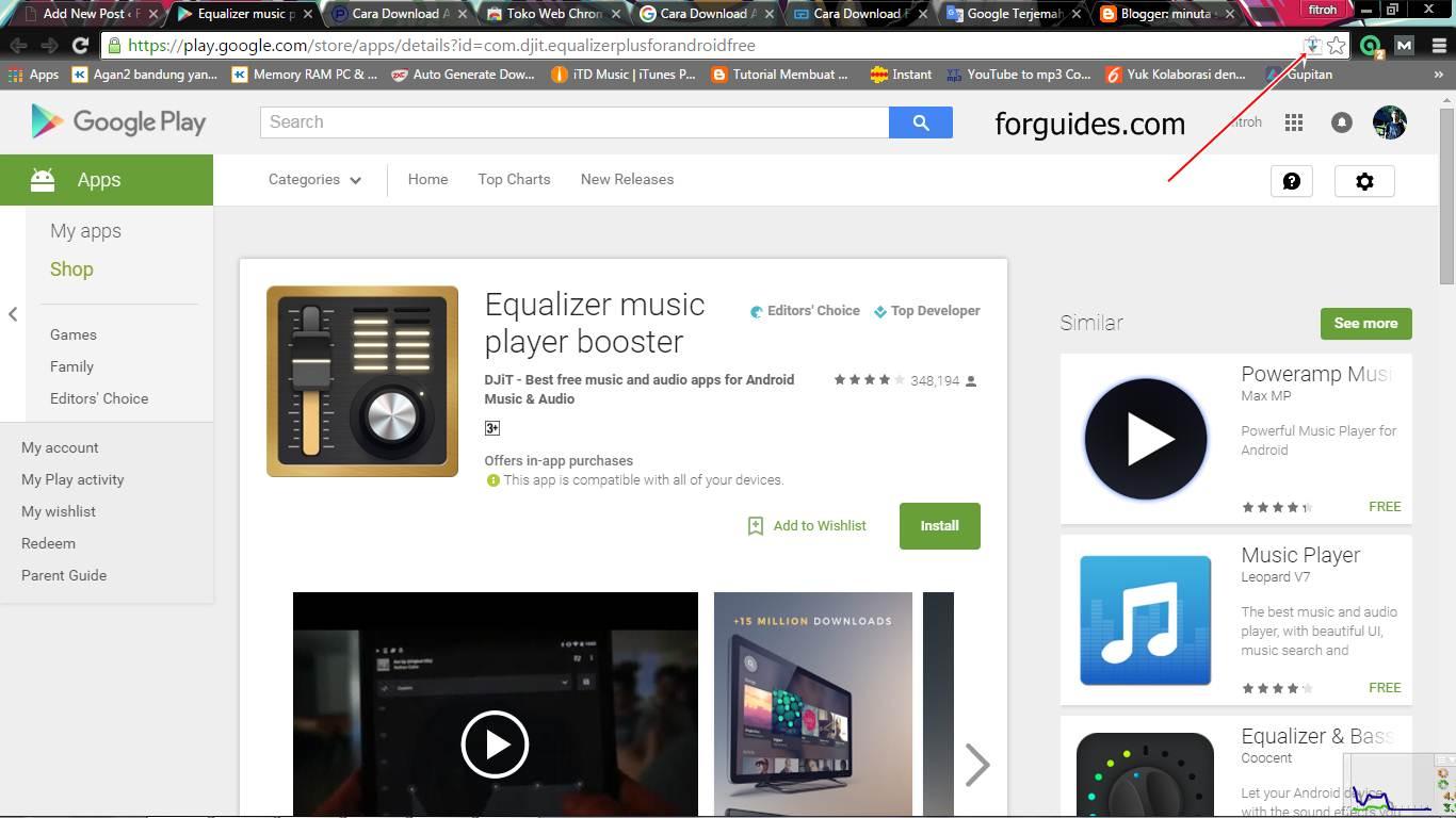 Cara Download File APK di Google Play dari Komputer