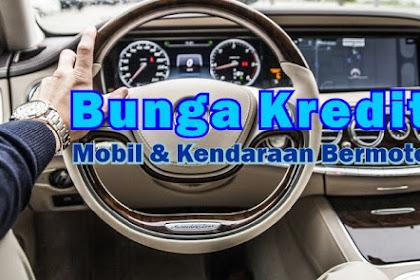 Bunga Kredit Mobil 2018 dari Perbankan dan Multifinance Terkemuka di Indonesia