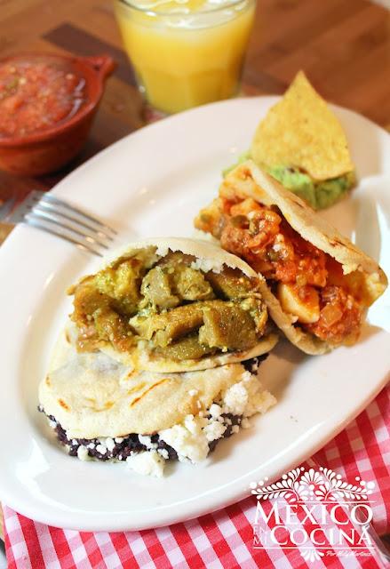 Receta de gorditas de comal mexicana
