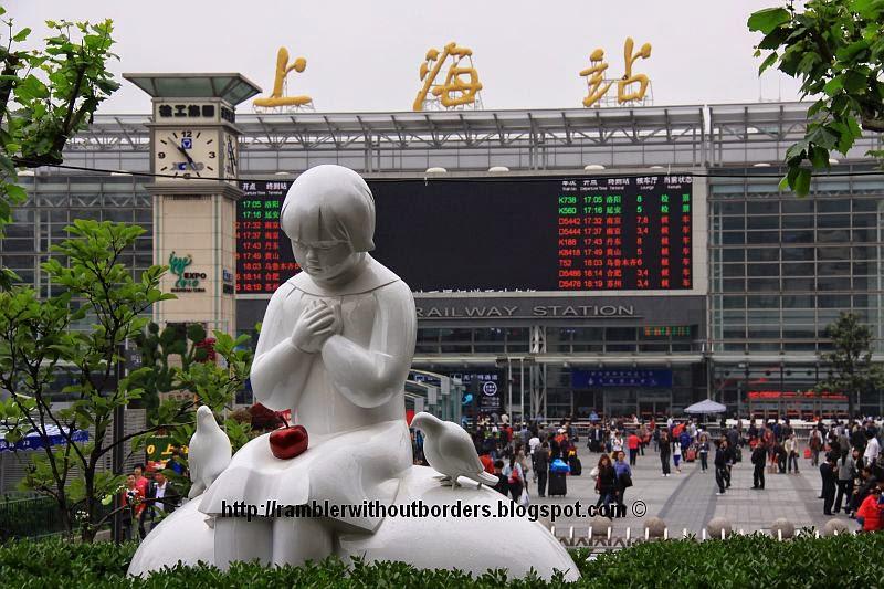 Shanghai Railway Station, China