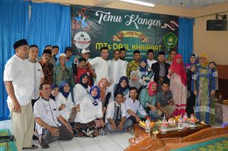 Silaturahmi dan Kebersamaan Almuni Madrasah Tsanawiyah Da'il Khairaat Angkatan Tahun 1997