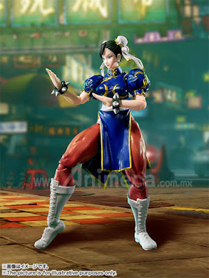 Figura Chun Li S.H.Figuarts Street Fighter