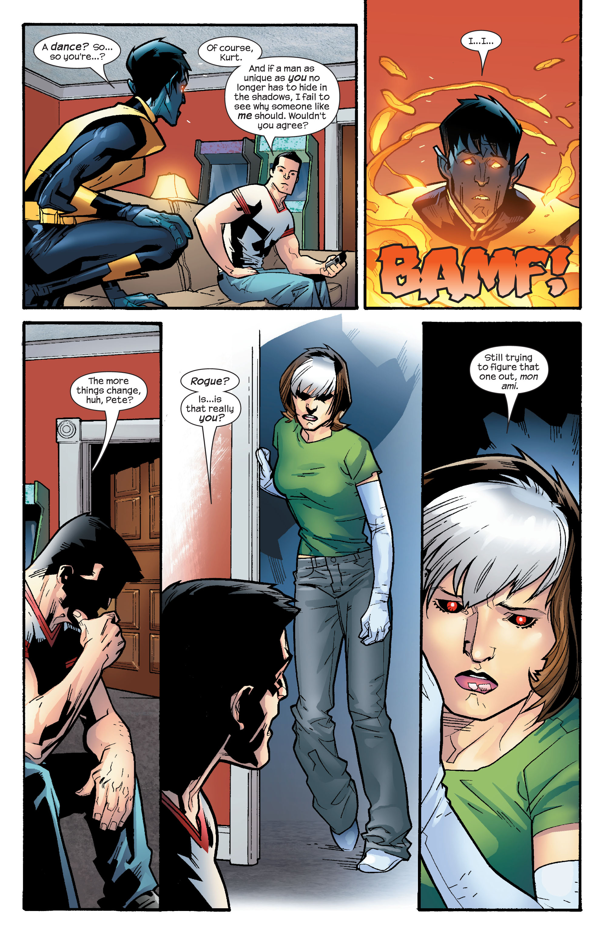 Read online Ultimate X-Men comic -  Issue #65 - 21