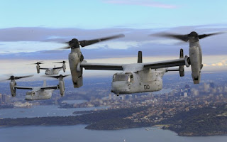 V- 22 Osprey se acidenta na Síria