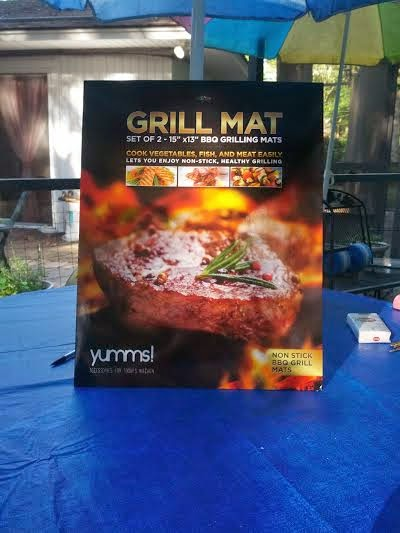 Gathering My Roses: #Yumms BBQ Grill Mat Review