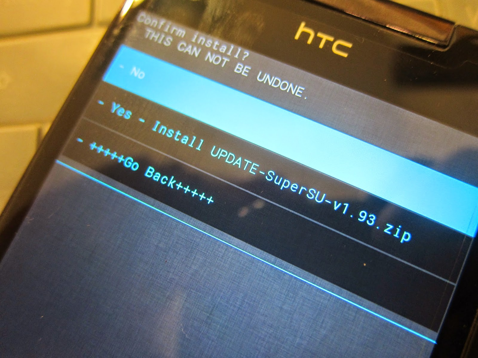 IMG 2333 - 【圖文教學】HTC Butterfly 4.3/4.4 解鎖+ROOT