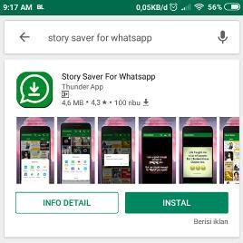 Cara Menyimpan Status Story WhatsApp Teman Terbaru